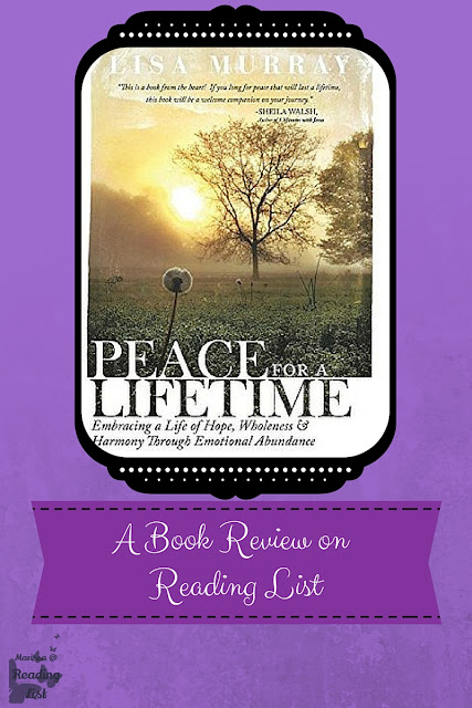 Peace for a Lifetime by Lisa Murray a Book Review on Reading List