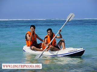 Pantai Pandawa, Tempat Bermain Kano Di Bali