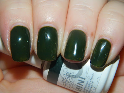 Sassy Swatches Fall Greens