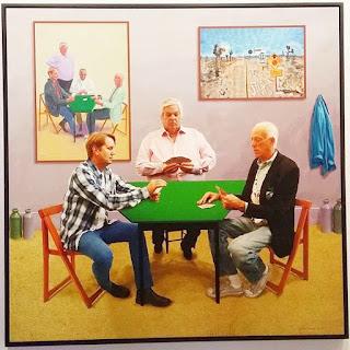 Exposition Picasso Mania - Grand Palais - Les joueurs de cartes - David Hockney