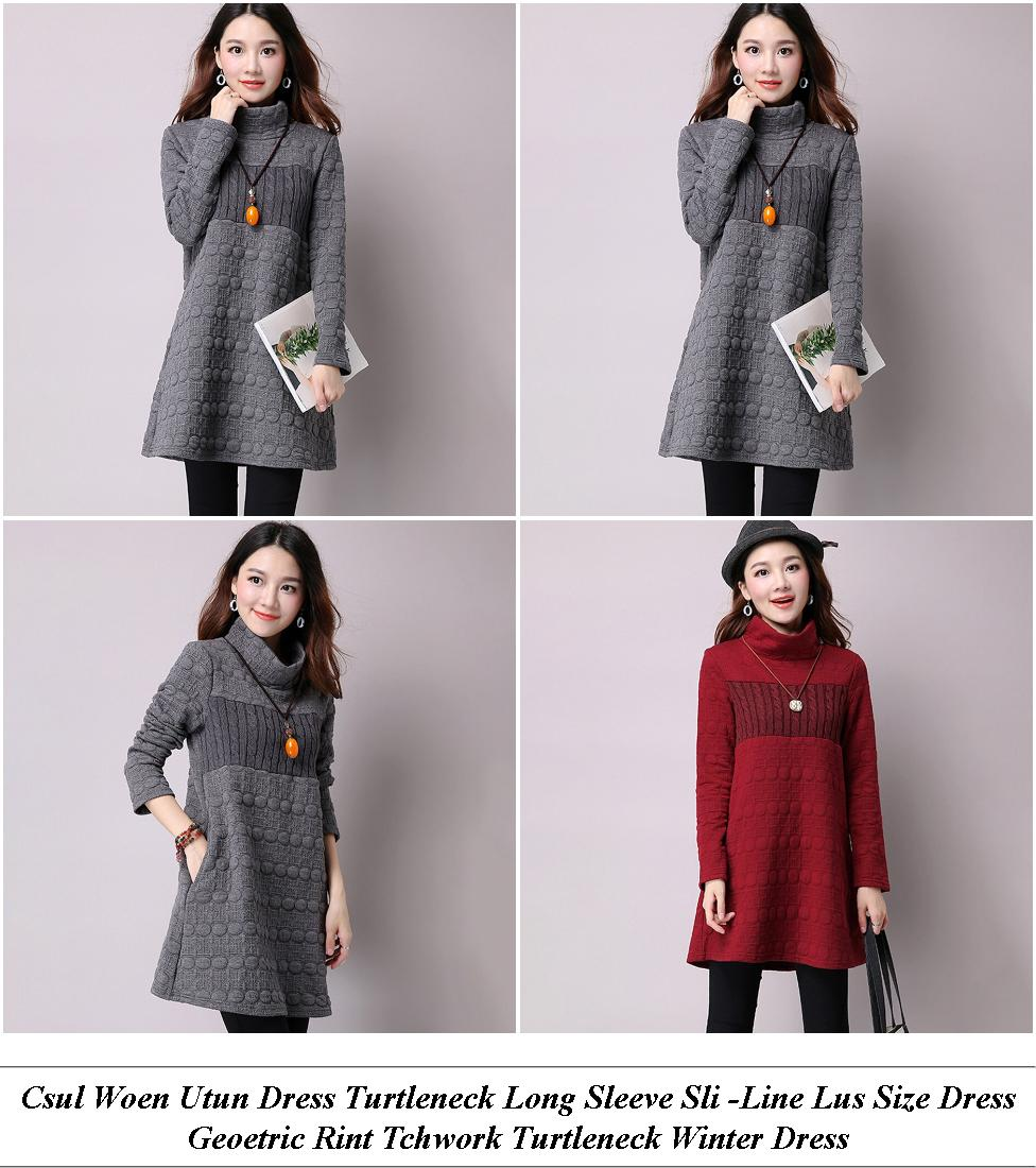 Maroon Ridesmaid Dress With Sleeves - What Is On Sale Now - Cluwear Dresses Malaysia