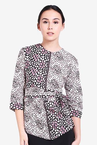 Contoh Model Blus Batik Remaja