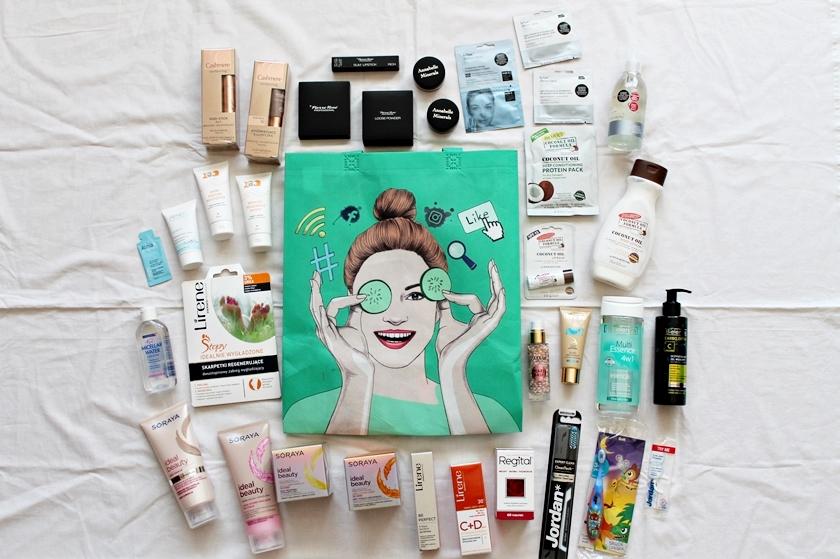 Konferencja Meet Beauty 2017 | upominki i piękna torba