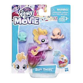 My Little Pony Baby Seapony Sun Twist Brushable Pony