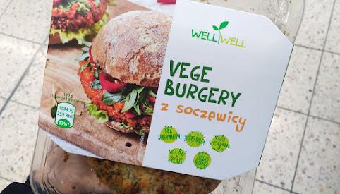 Vege burgery, WellWell