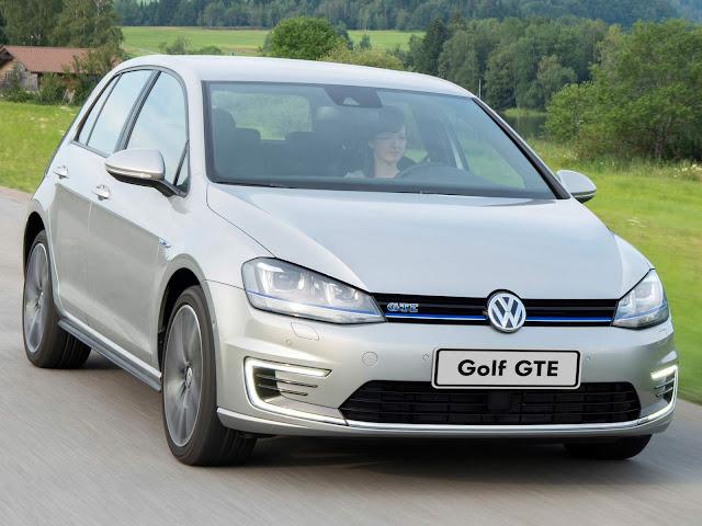 Signo de Peixes - VW Golf GTE