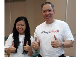 #SayaAWGI-imel Young