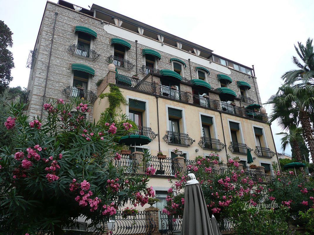 Hotel Villa Carlotta Taormina edificio