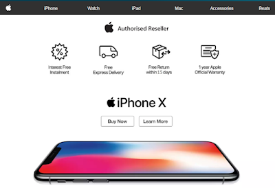 iPhone, Apple Store, Jenama, Brand, Jenama Apple, Handphone, Telefon Pintar iPhone, Lazada Malaysia, Online Shopping, Lazada Shopathon Blogger Contest, Shopathon Sale, 2018,