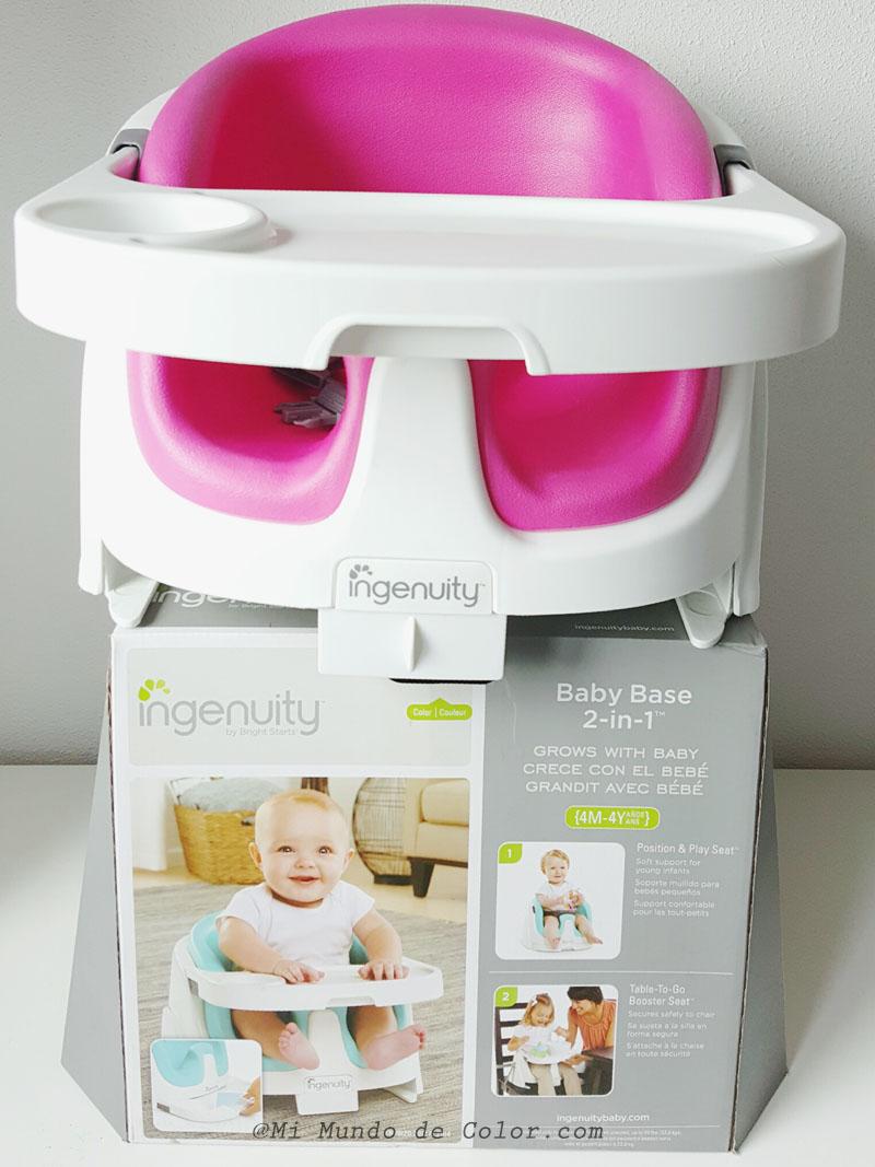 Asiento ergonomico ingenuity bright starts nuestra for Asiento para bebe