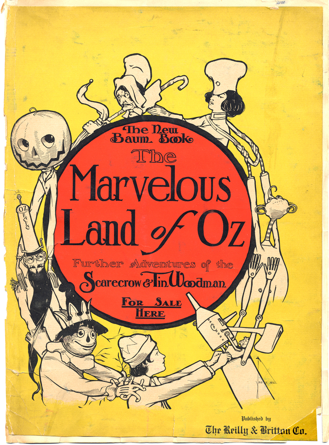 The Marvelous Land Of Oz Book