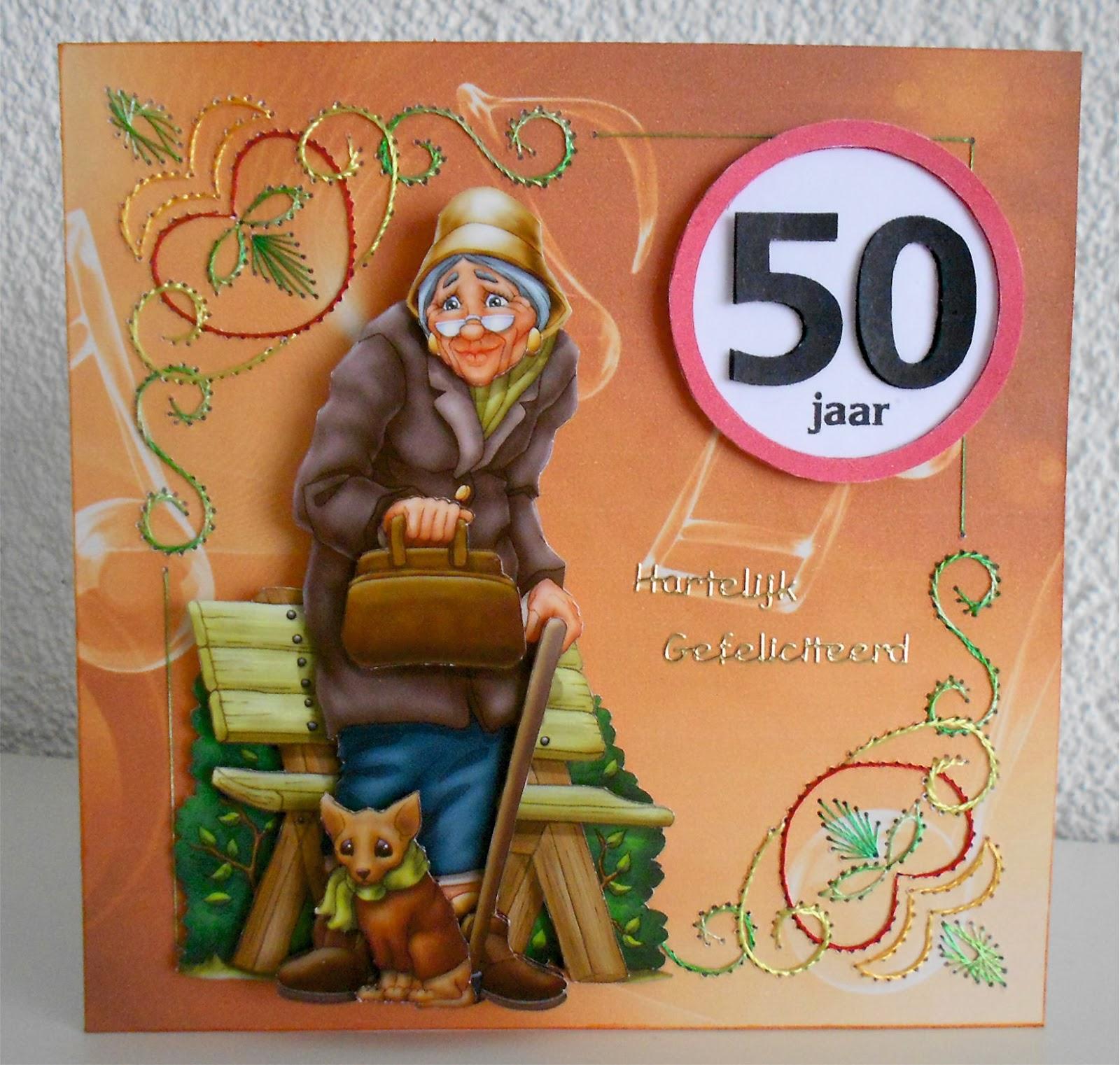 50 Jaar Sarah Feestartikelen
