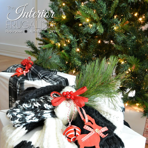 Christmas Gift Wrapping Ideas Using Scarves