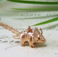 Triceratops Pendant Necklace Jewellery Blog