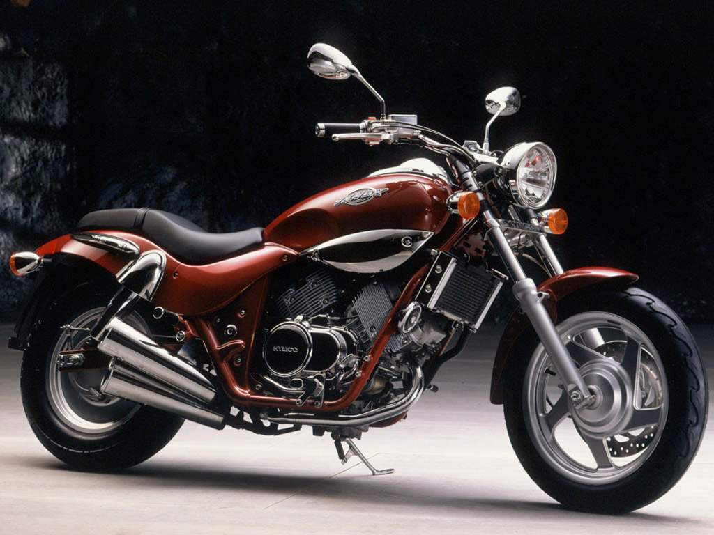 Motorcycle Posters Kymco Venox 250