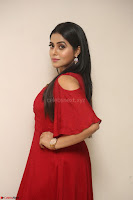 Poorna in Maroon Dress at Rakshasi movie Press meet Cute Pics ~  Exclusive 146.JPG