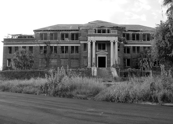 Jefferson Davis hospital was constructed on a former cemetery land.
