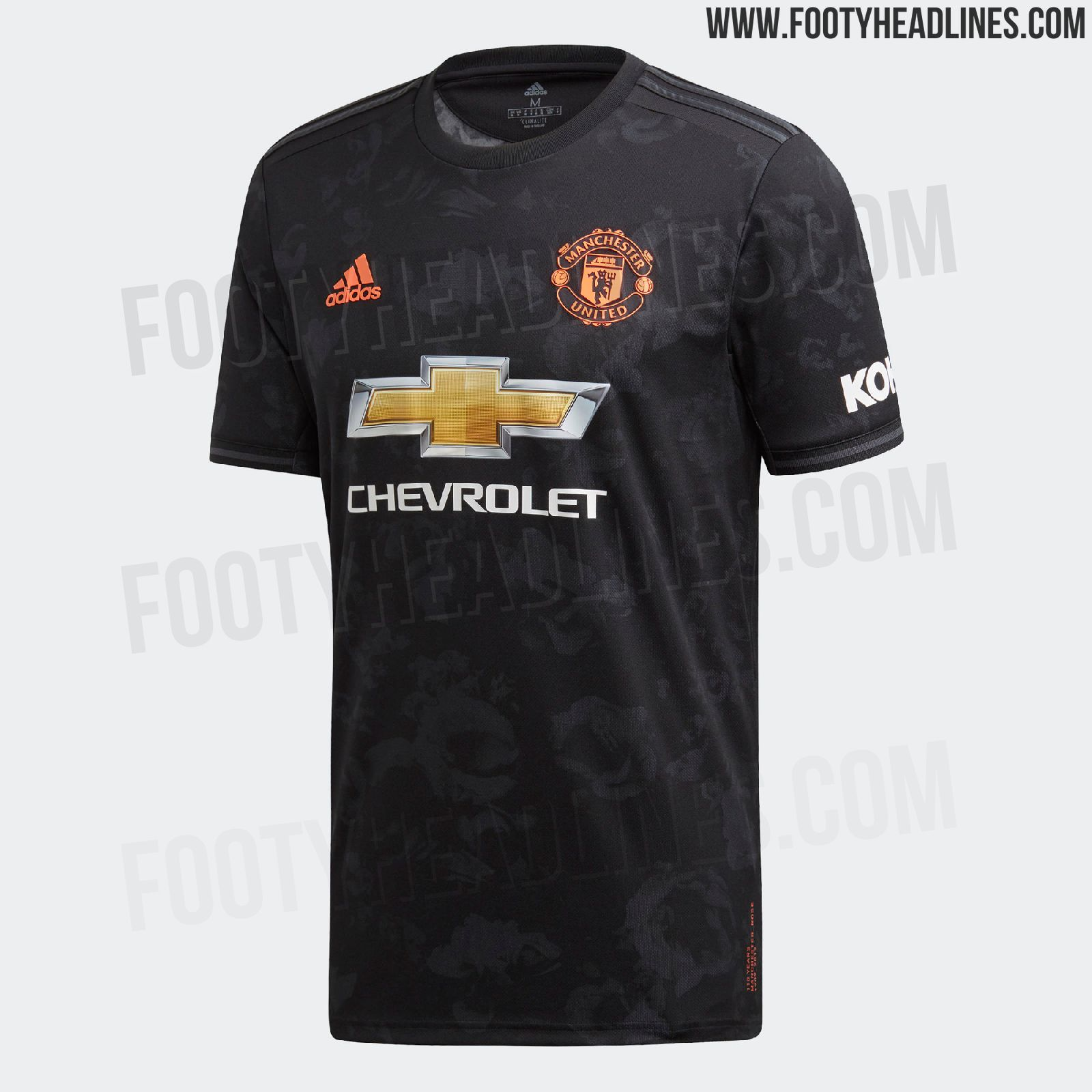 Manchester United 19-20 Third Kit Leaked - New Pictures ...