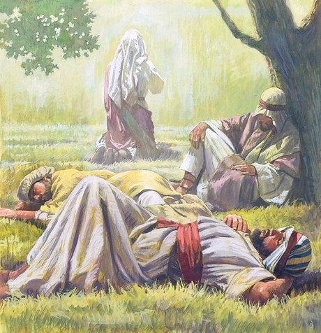 Spiritual Sleepiness
