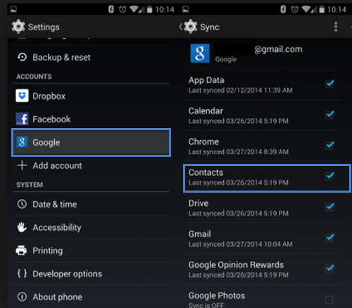 Google Contacts: Samsung Data Recovery: How To Retrieve Deleted/Lost