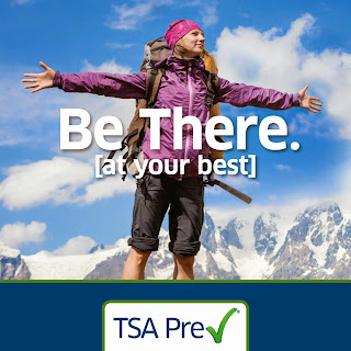 A photo image advertisment of TSA Precheck