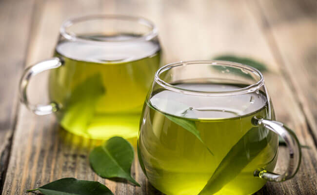 how to stop hair fall green tea