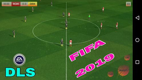 تحميل دريم ليج 18 dream league مود لعبة فيفا 2019 بحجم 160 ميجا من ميديا فاير