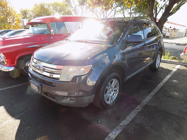 2008 Ford Edge after color change at Almost Everything Auto Body.
