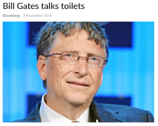 Bill Gates toilets