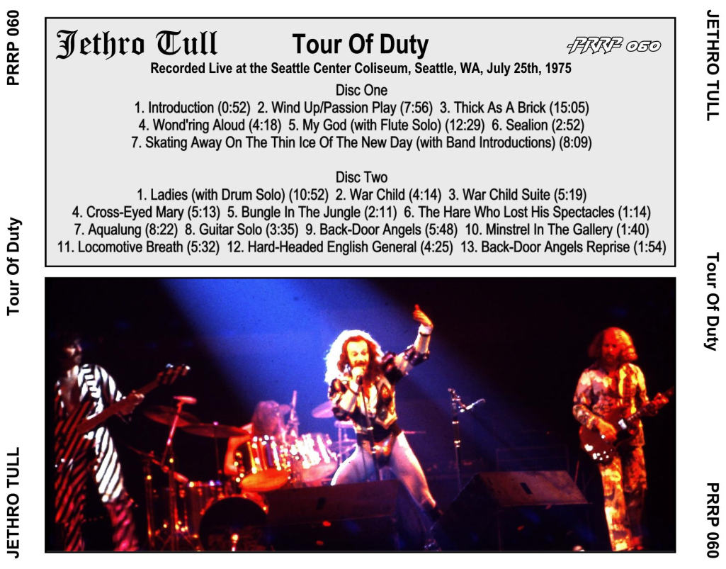 Jethro Tull Tour Usa