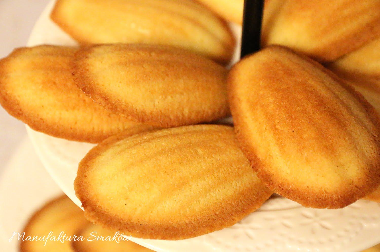 Pomarańczowo - migdałowe magdalenki | Manufaktura Smaków