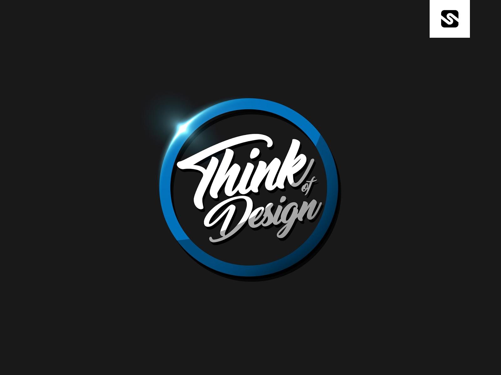 Free Download Modern Badge Logo Design Template. PSD File