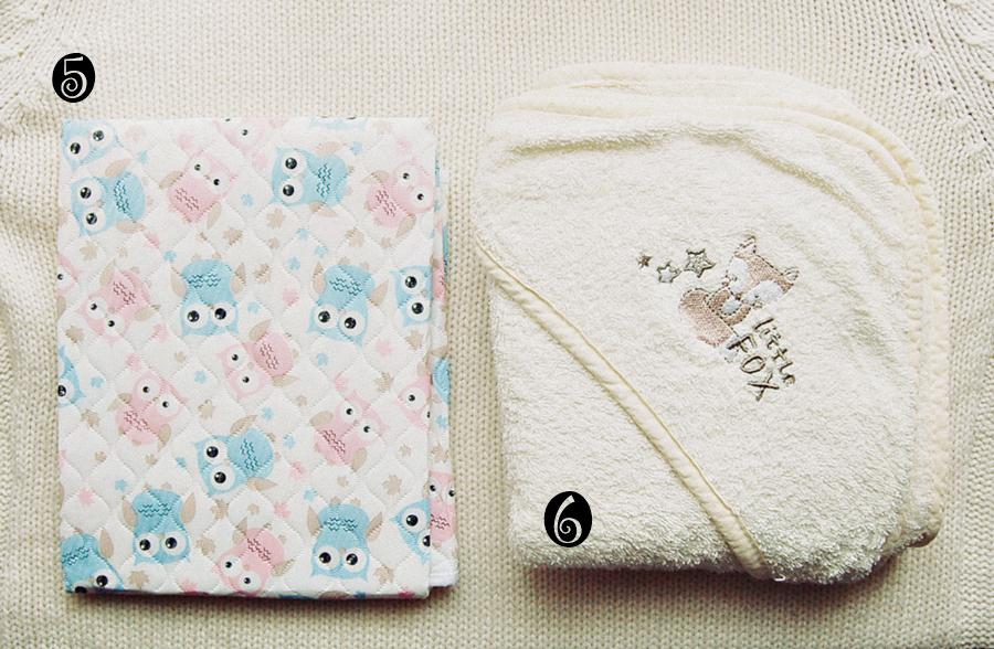 podkład do przewijania pepco, pepco, przewijanie, wyprawka, poród, ręcznik z kapturkiem, kąpiel dziecka