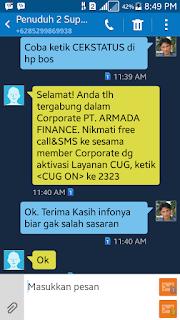 Penuduh Tidak Tanggung Jawab Aktivasi CUG Telkomsel  Suparman Damank  (1)