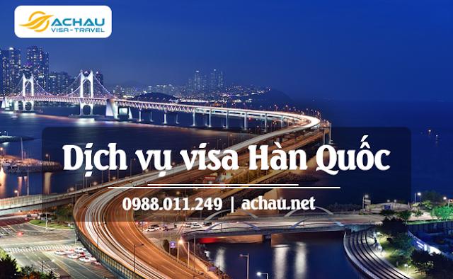 Các bước xin visa Hàn Quốc thành công
