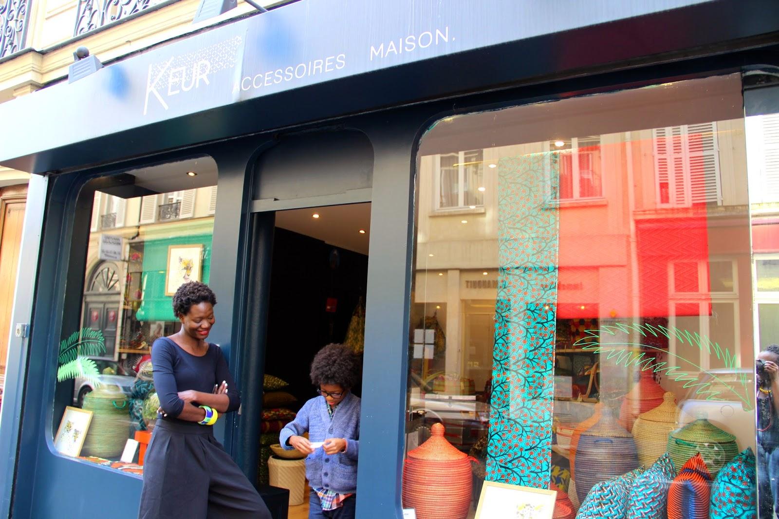 Nothing but the wax keur la boutique de deco africaine a for Boutique de decoration paris