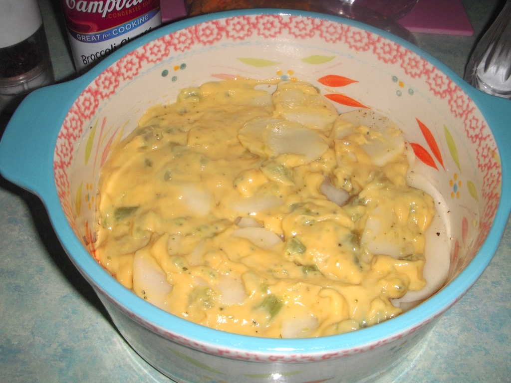 Margaret's Morsels: Broccoli Cheese Potatoes