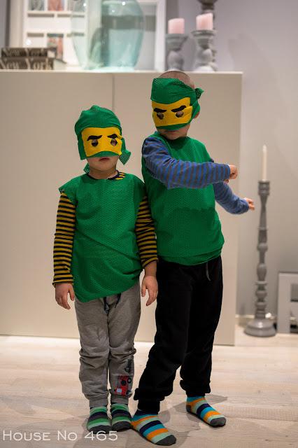 lego ninjago, asu, naamiaisasu, diy, ompelu