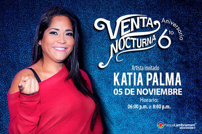 Katía Palma en el Parque Lambramani, Arequipa - 05 de noviembre