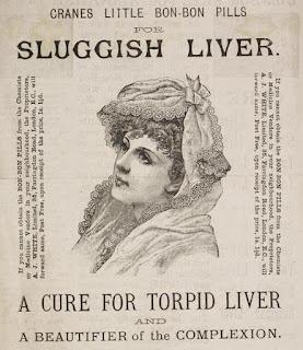 Cranes Little Bon-Bon Pills -- A cure for Torpid Liver