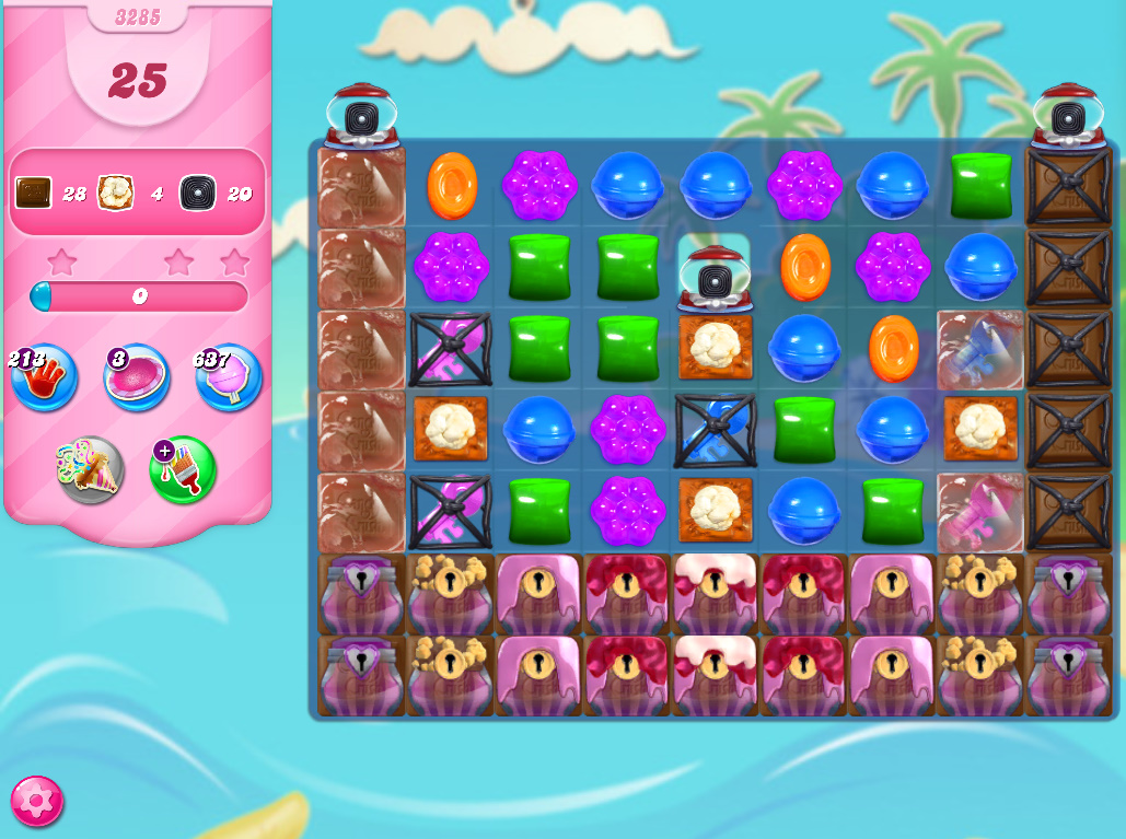 Candy Crush Saga level 3285