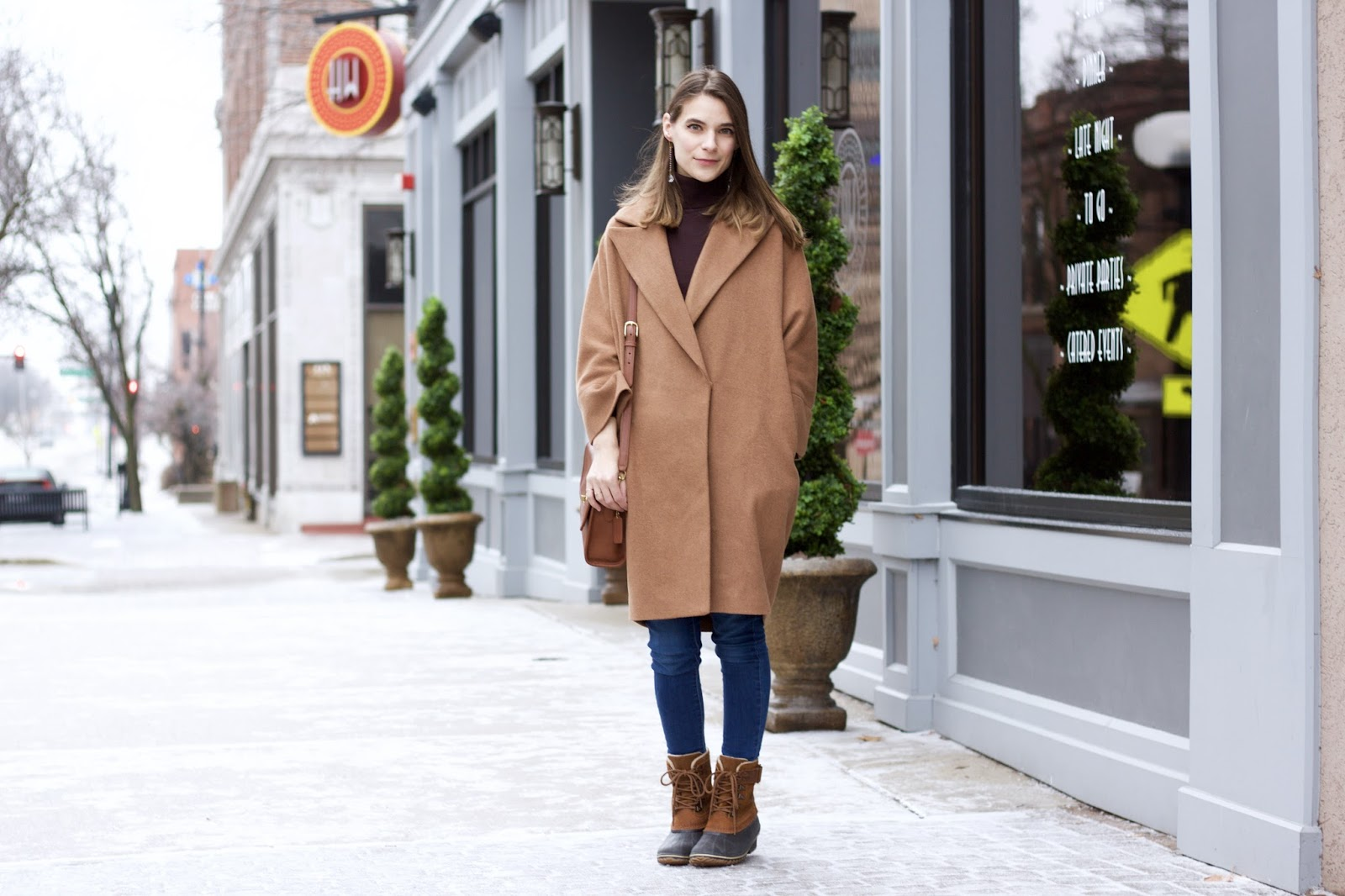 women's cocoon coat