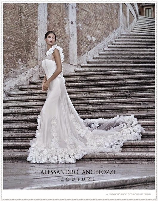 Alessandro Angelozzi Brautkleider Kollektion 2015