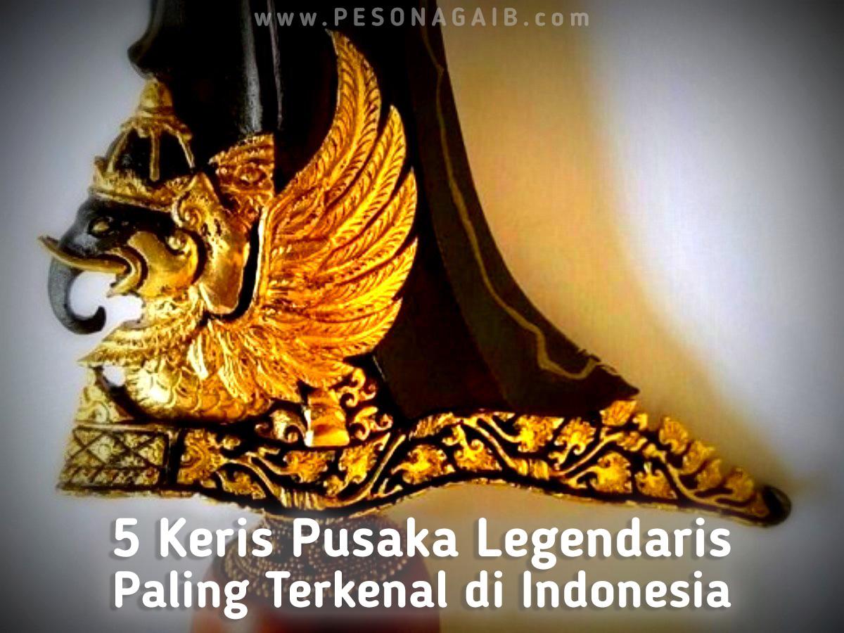 5 Keris Pusaka Legendaris