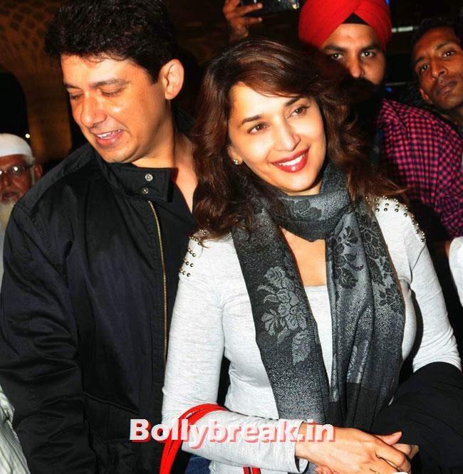 Shriram Nene and Madhuri Dixit, Celebs LeaveFor IIFA 2014 - Kareena Kapoor