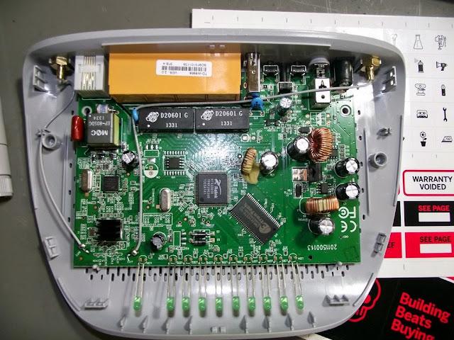 PCB TD-W8968 TP-Link