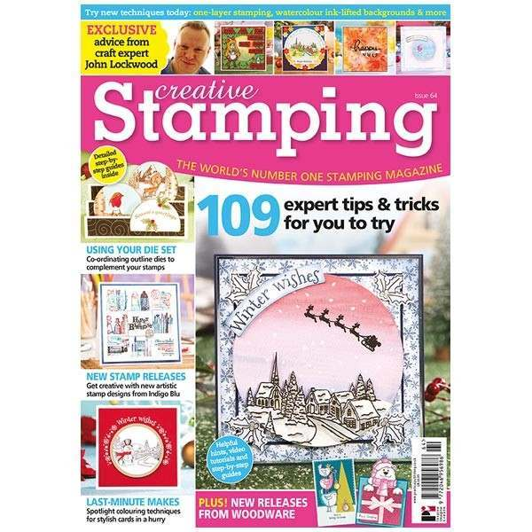 I'm delighted to be in print again with my Visible Image stamps Wonderland cards