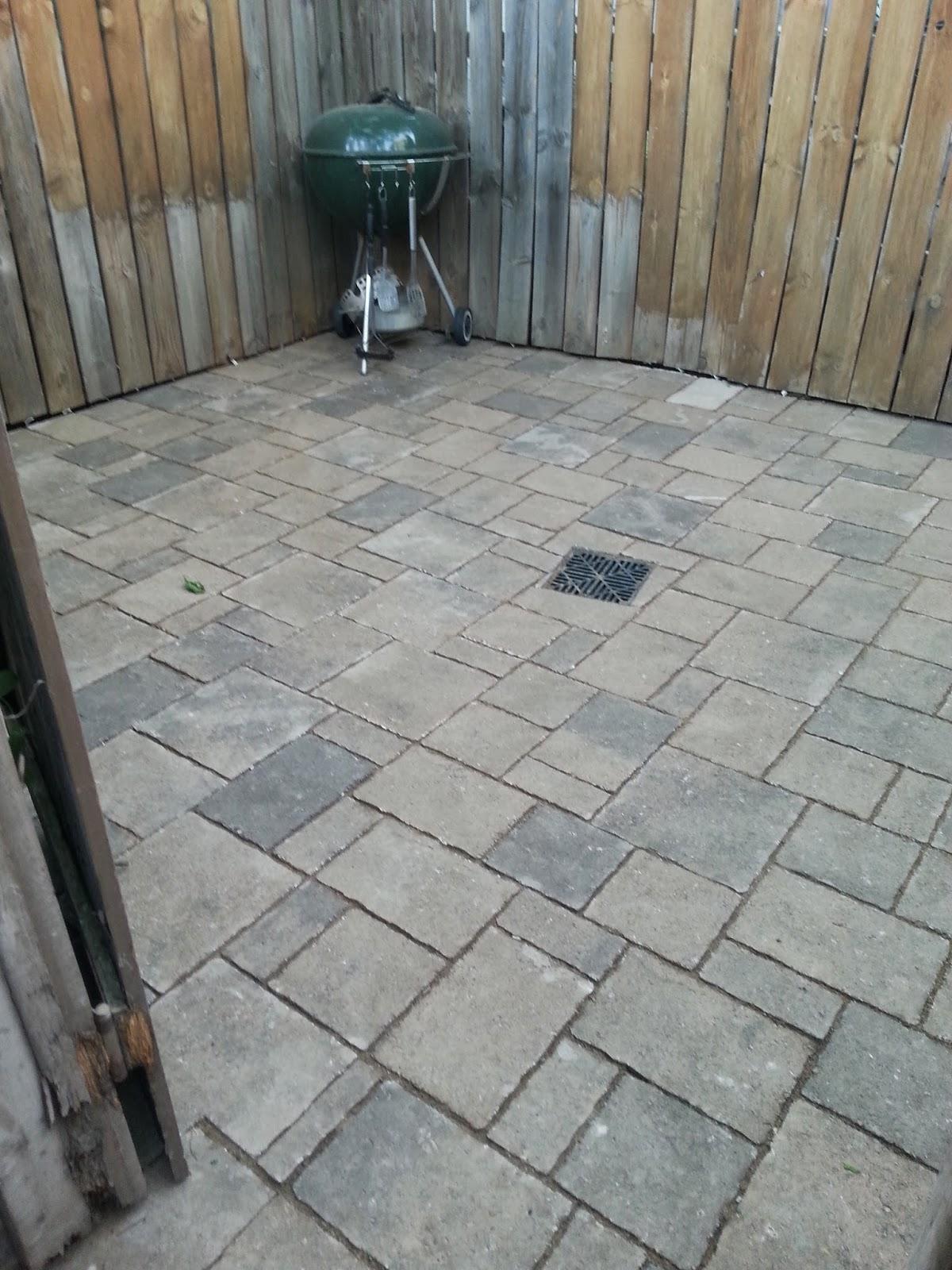 Custom stoneworks design inc south durham street patio for Patio drainage