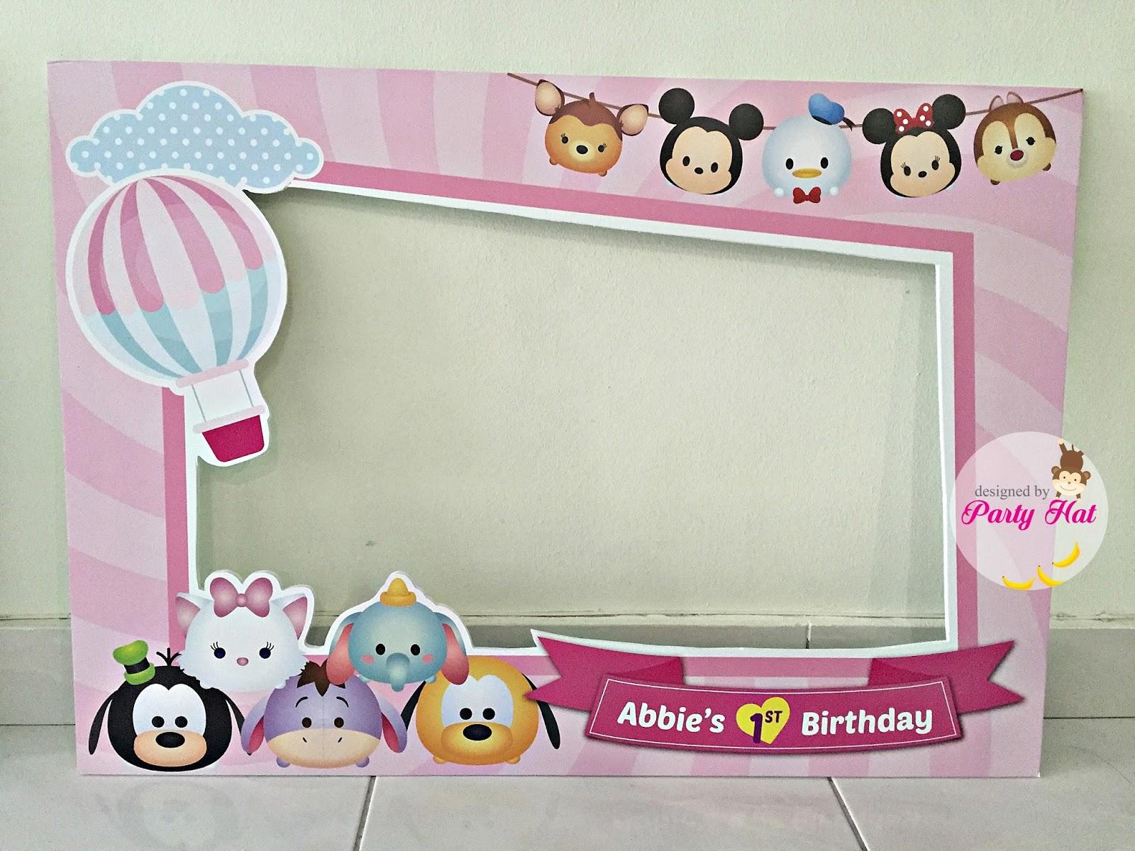 Party Hat: Abbie 's Disney Tsum Tsum Birthday Party