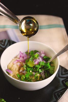 bengali started recipe posto baata
